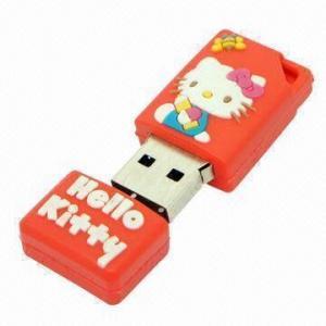 8GB USB Flash Drive, Hello Kitty Style, Samsung Hynix Toshiba Intel Flash Memory Available Manufactures