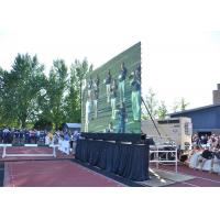 P6.4outdoor Led Video Display Board , Led Hd Screen Fog Proof 100000 Hours Life Span Manufactures