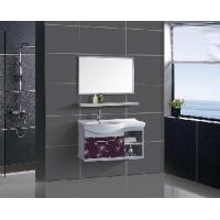 Stainless Steel Bathroom Furniture / Cabinet / Vanity (F-3073) Manufactures