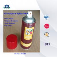 All Multi Purpose Spray Paint , Colorful Acrylic Spray Paint 400ml Manufactures