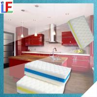 China New Innovative Melamine Product White Stain Cleaning LF01K Sponge on sale