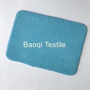 Microfiber memory foam bath mat,dry water microfiber bath mat ,washable mats ,microfiber floor mat Manufactures