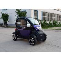 72 V 1000 W  Mini Electric Car Fashion Color With 1 Passenger Seat Manufactures