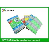 Durable Non Abrasive Scouring Pad , Dish Cleaning Scrubber Nylon / Sponge Material Manufactures
