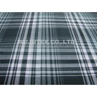 China Stable Quality 100% Organic Cotton Yarn Dyed Fabric Plain Weave Plaid Shirt Fabric on sale