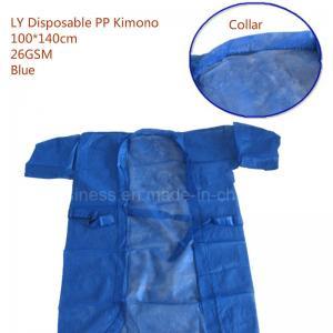 Ly PP/SMS Disposable Sauna Suit, Bath Kimono Manufactures