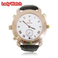 Lady wrist watch camera support waterproof function Manufactures