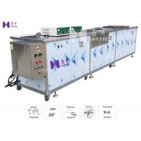 Tableware Semi - Auto Ultrasonic Cleaning Equipment 600W 12Pcs Transducer CE Certificated Manufactures