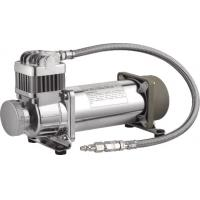 Quality Hardmount Heavy Duty Air Ride Suspension Compressor 12V Chrome 150 PSI for sale