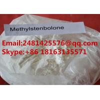 China White Anabolic Androgenic Steroids Methylstenbolone For Muscle Growth CAS 5197-58-0 on sale