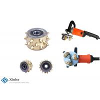 Rotary Bush Hammer Tungsten Carbide Cutters On Floor Grinders Floor Scarifier Concrete Milling Machines Manufactures
