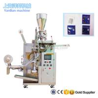 China YB-180C Automatic tea/herbs/coffee inner and outer bag packing machine with high quality on sale