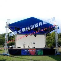China Aluminum Outdoor Stage Roofing Truss, lighting truss from Aoka Stage on sale