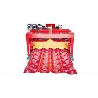 Roofing Step Tile Roll Forming Machine Size 6.5*1.5*1.5m Productivity 1-4 M/Min Manufactures