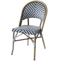 China Outdoor Coffee Stackable 100% Handmade Bistro Dining Chairs on sale