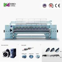 AC 380V Computerized Quilting Machines For Apparel Fabrics Sewing Speed 400-500n/M Manufactures