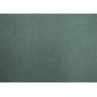 China Anti - Static100 Cotton Fabric / Green Color Fabric With Reactive Dye on sale
