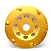 Wear Resistant Hard PCD Diamond Cup Wheels For Coatings Removing Manufactures