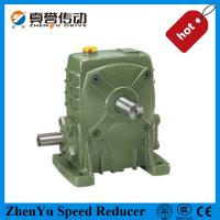 Cast Iron Worm Speed Reducer Gearbox 1400rpm , Electric Motor Speed Reducer Manufactures