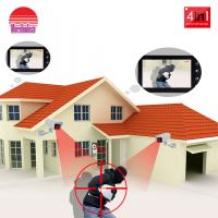 New Design Security Camera System 4 Wire Door Video Camera Video Door Phone with Vandal-proof Call Panel Manufactures
