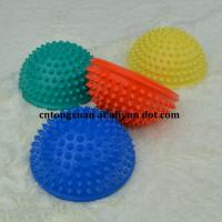 Wholesales Cheap Price PVC Small Inflatable Foot Massage Ball Half Bearing Massager Manufactures