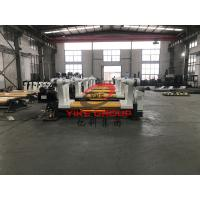 3 Ply Corrugated Cardboard Production Line 1800mm Hydraulic Mill Roll Stand Manufactures