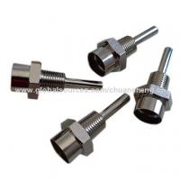 CNC machining brass thermowell, CNC machining, machining parts Manufactures