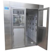 Medical Class 100 Stainless Steel Air Shower Clean Room Laboratory Manufactures