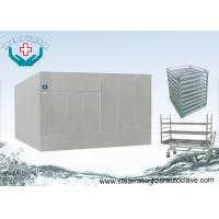Large Steam Sterilizer Double Door Autoclave Reducing Microorganism To 7 Logs Manufactures
