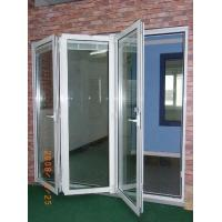 Quality Easy Installation Anodizing / PVDF Folding Aluminum Frame Windows with Float Glass for sale