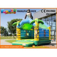 Customized Size Gorilla Inflatable Jump Bouncy Castles With 1 Year Warranty Manufactures