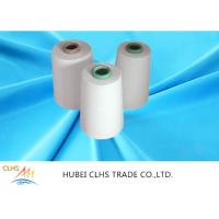 Dyeing Tube Ring Spun Polyester Yarn High Strength 40s / 2 Counts Single Yarn Twist Manufactures