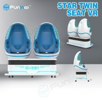 Star Twin Seat 9D Virtual Reality Cinema Simulator For Kids Park Manufactures