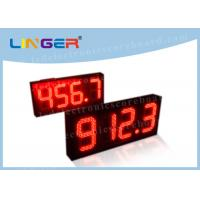 Multi Functional Digital Gas Price Signs With ROHS Certificate 888.8 Format Manufactures