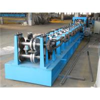 China Automatic Z Purlin Roll Forming Machine , Durable Roll Former Machine Chain Drive on sale