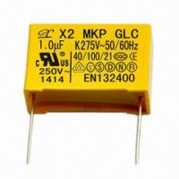 275V AC Polypropylene Film Capacitor, Box Type, 22.5mm Pitch Manufactures