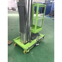 China 10m height single man lift aluminum alloy material on sale