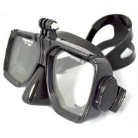 Non - Toxic  Adult Diving Mask Silicone Material With Tempered Glass Lens Manufactures
