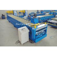 High Speed 18 Row Double Layer Roll Forming Machine 380V 50Hz 3 Phase Manufactures