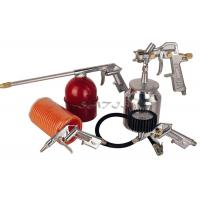 5PCS Auto Paint Gun Kits Suction Feed Type , air spray gun set Manufactures