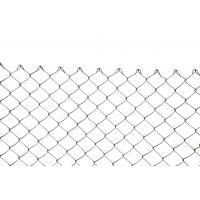 China PVC Coated Easily Assembled Custom Wire Mesh Chain Link Fence For Fencing Areas on sale