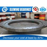Non Standard Excavator Slewing Bearing , Flange Type Bearings  For Wind Turbines Manufactures