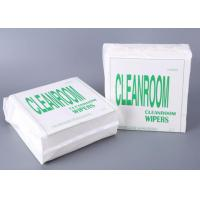 LCD PCB  Screen Cleanroom Wipes , Reusable Kitchen Wipes For Laboratory Equipment Manufactures