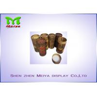Damp proof art paper custom cardboard displays tube boxes for tea Manufactures