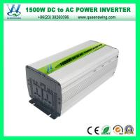 Portable 1500W Modified Sine Wave Car Solar Power Inverter (QW-M1500) Manufactures