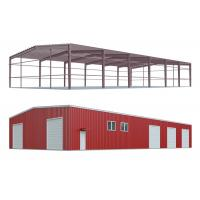 Easy Installing Prefab Metal Storage Buildings , Steel Warehouse Buildings Manufactures