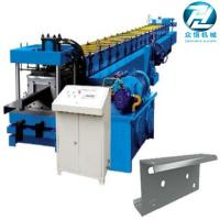 China Hydraulic cutting Galvanized Steel C U Z Channel Roll Forming Machine for 3mm on sale