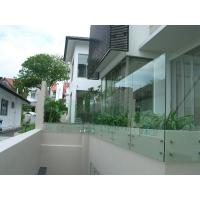 Stainless steel patch fitting / standoff glass railing for interior/ outdoor Manufactures