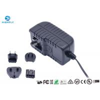 China 18V 1A Interchangeable Plug Power Adapter Power Supply With UL CE GS Certifications on sale