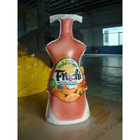 Fashionable Inflatable Drink Bottle / Lightweight Inflatable Marketing Products Manufactures